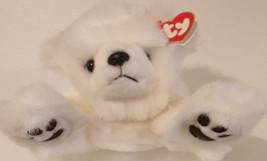 TY BEANIE BUDDIES 1997 COLLECTIBLE–Baby Paws the Polar Bear – RETIRED-MWMT - $15.70