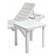 Resol Sun Lounger Side Tables 470mm (Pack of 6) /Commercial Garden - $125.32