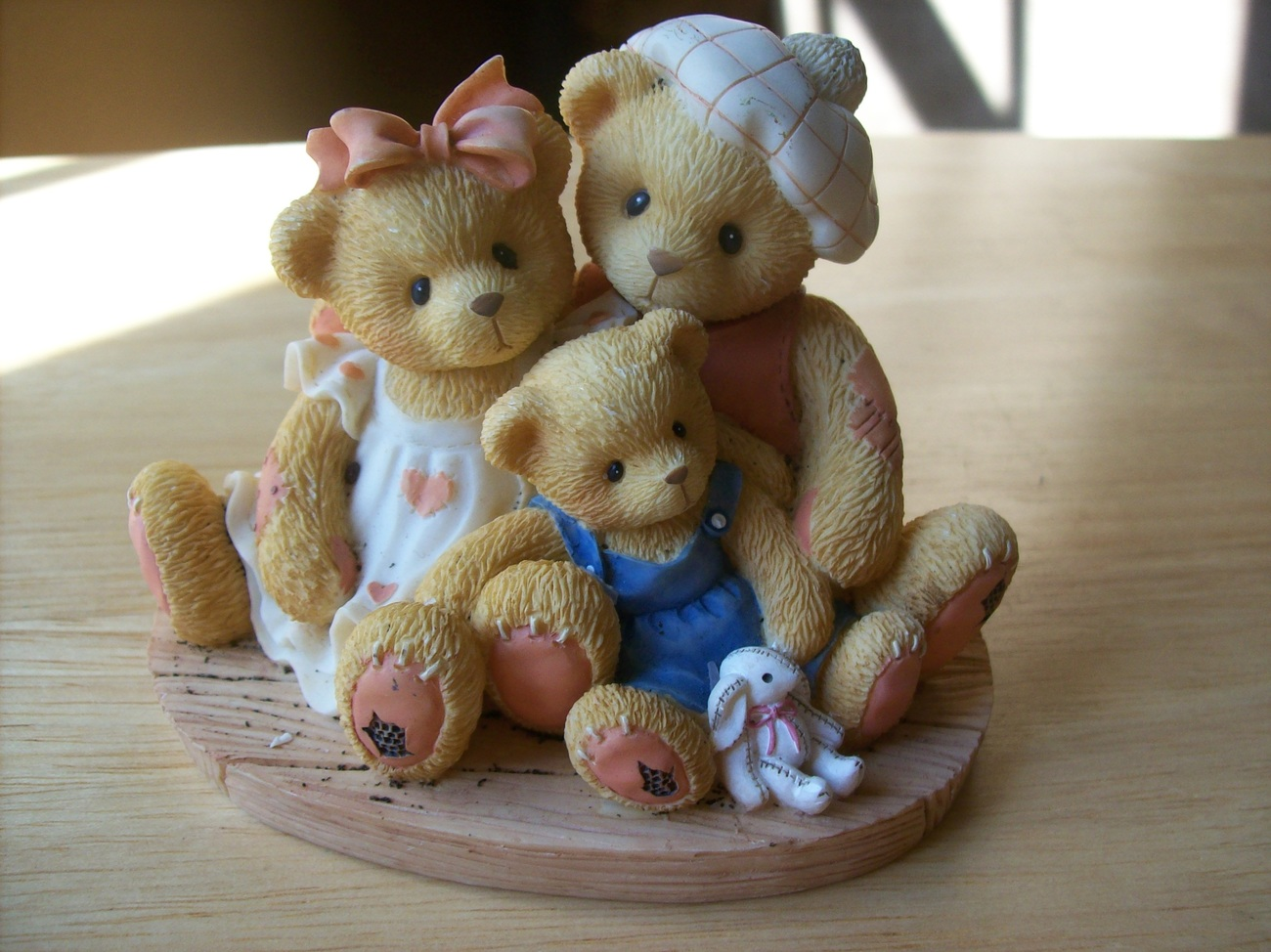 """Cherished Teddies 1998 Penny, Chandler & Boots """"We're Inseparable"""" Figurin"""