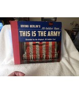 1942 78 rpm Set THIS IS THE ARMY Irving Berlin 4 Fine Vinyl Records Broa... - $30.00