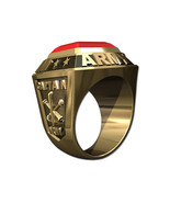 US ARMY RING MENS CHAMPIONSHIP STYLE-10KT GOLD - $1,299.00