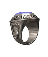 US NAVY RING MENS CHAMPIONSHIP STYLE-Sterling Silver - $399.00
