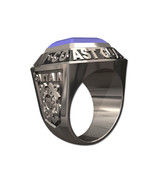 US COAST GUARD RING MENS CHAMPIONSHIP STYLE-Sterling Silver - $399.00
