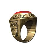 US MARINE CORPS RING MENS CHAMPIONSHIP STYLE-14KT GOLD - $1,749.00