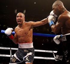 Andre Ward 8X10 Photo Boxing Picture Connects With Left - $3.95