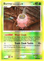 Burmy Trash Cloak 80/132 Reverse Holo Common Secret Wonders Pokemon Card - $1.49