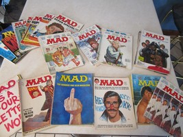 MAD Magazine Lot of 43 - 1970s 1980s  The Finger Cover -  Super Specials... - $152.21