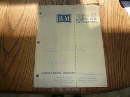 1965 Oldsmobile Chrysler Ford Imperial Rambler Falcon R-M Color Chip Paints - $18.31