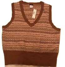 NWT J. Crew Sleeveless V-Neck sweater L - $30.00
