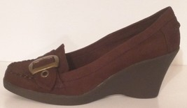 AMERICAN EAGLE 65095 - Women's Wedge Heel Suede Oxfords - Size: 7 - $26.91