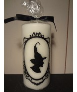 Witch Pillar Candle - $6.13