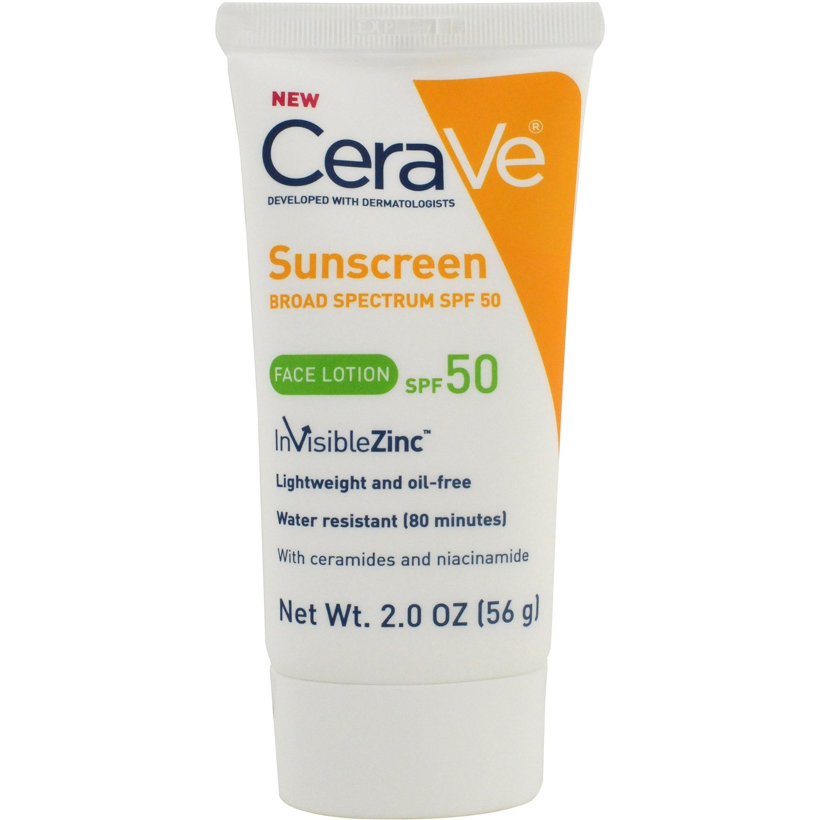 cerave sunscreen for face spf 50