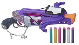 Nerf Girls Rebelle Charmed Fair Fortune CROSSBOW Blaster - 75' Range, Ra... - $17.94