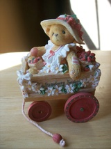 "Cherished Teddies 1996 Diane "" I Picked the Beary Best for You"" Figurine - $18.00"