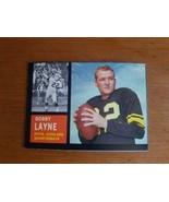 VINTAGE 1962 TOPPS BOBBY LAYNE #127 PITTSBURGH STEELERS Nice Card O/C - $12.38