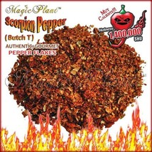 Trinidad Scorpion Pepper Flakes - Crushed Scorpion Peppers Dried  (1KG) - $126.23