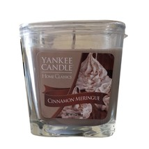 YANKEE CANDLE Cinnamon Meringue Scented Small Home Classics Candle - $16.14