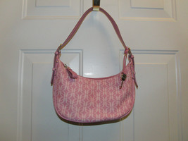 Fossil Signature Logo Pink Purse - $8.99