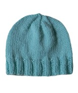 Closet Values Baby Boys 3-6 Mos. Pastel Green Beanie Knit Hat  - $7.99