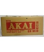 Akai GX-M30 Stereo Cassette Deck w/ Original Box Tested Working - $299.99
