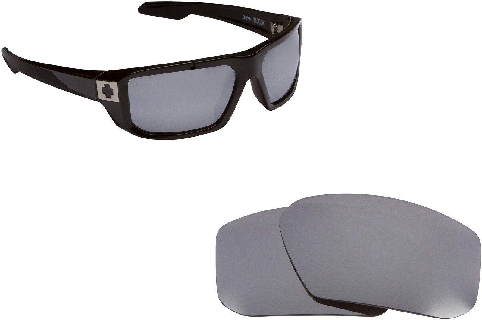 b73e82e5456 71 zv3uosdl. 71 zv3uosdl. New SEEK Replacement Lenses Spy Optics McCOY -  Polarized Silver Mirror  New SEEK Replacement ...