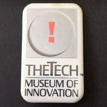 The Tech Museum of Innovation San Jose CA Vintage Button Pinback 1990s - $19.25