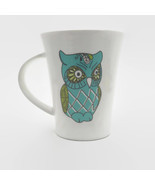 Tara Reed Blue Harbor Collection Owl Coffee Tea Mug - $8.91