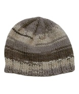 Closet Values Baby Boys 6-9 Mos. Brown Beanie Knit Hat - $7.99