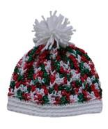 Closet Values Baby Girls 0-3 Mos. Christmas Knit Hat  - $10.99