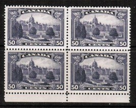 CANADA Scott # 226** VF MINT NH BLOCK of 4  (LG-411) - $89.05