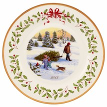 Lenox 2013 Annual Holiday Collectors Plate Brin... - $61.72