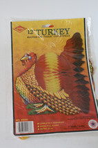 Beistle Honeycomb Turkey Thanksgiving Tabletop ... - $7.00