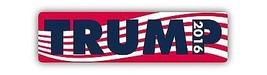 Trump 2016 2x8 Magnet Decal Republican - $5.99