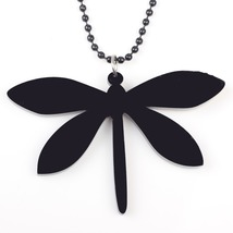 dragonfly necklace pendant acrylic  2015 news accessories spring summer cute des image 4