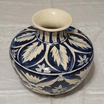 Vintage Fine European Pottery Floral Leaf Vase ... - $200.00