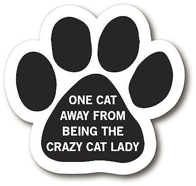 I Love My Himalayan 5 inch Paw Print Magnet with Hearts for Car SUV or Fridge