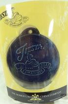 Fiesta-CHRISTMAS-Ornament-75th Anniversary Cobalt Blue Homer Laughlin Co HLC NIB - $12.99
