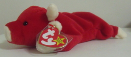 Ty Beanie Babies NWT Snort the Red Bull Retired - $15.95