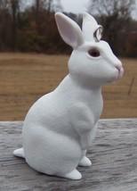Custom Made Terra White Rabbit Bunny Christmas Holiday Ornament   - $18.00