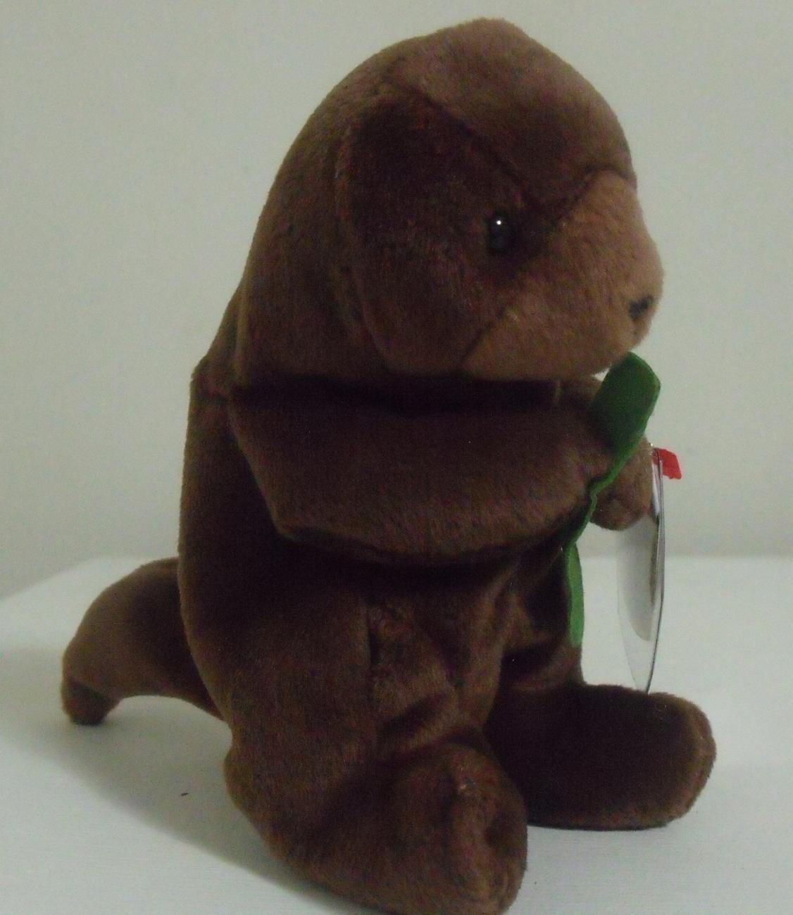 Ty Beanie Babies NWT Seaweed the Otter Retired