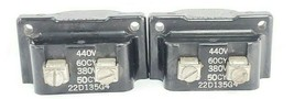LOT OF 2 GENERAL ELECTRIC 22D135G4 COILS 440V 60CY 380V 50CY image 1