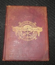 UNDERGROUND TREASURES HOW AND WHERE TO FIND THEM BY JAMES ORTON 1881 - $33.36