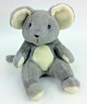 "Manhattan Toy Mouse Grey 1988 VIntage Plush Stuffed Animal 12"" - $58.04"