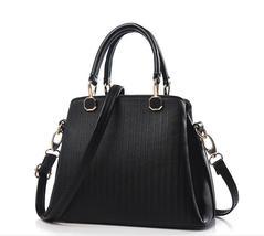 Free Shipping Women Leather Handbags Medium Shoulder Bags Tote Bags K207-1 - $38.99