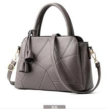 Free Shipping Large Leather Handbags Shoulder Bags Women Leather Tote Ba... - ₨2,589.65 INR+
