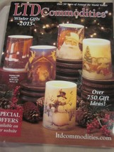 LTD COMMODITIES CATALOG WINTER GIFTS 2015 AROUND THE WORLD VALUES BRAND NEW - $9.99