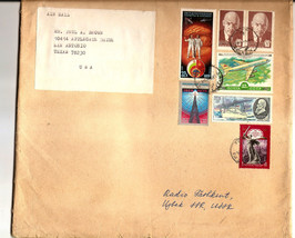 COVER - TASHKENT UZBEK USSR to Texas USA 1980?? - $3.33
