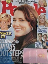 PEOPLE MAGAZINE APR APRIL 4 2016 PRINCESS KATE FOLLOWING IN DIANA'S FOOT... - $9.99