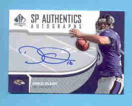 2006 SP Authentics Drew Olson Autograph Ravens - $6.00