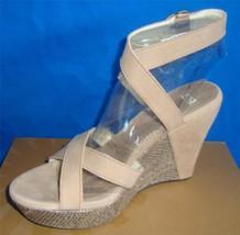 UGG Australia ARIAH Fawn Ankle Strap Wedge Sandals Size US 8,EU 39 NIB #1002511 - $51.03
